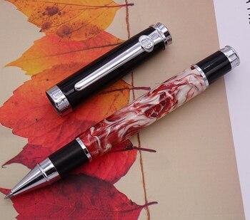 Duke Celluloid бело-красная Ручка-роллер красивый зыбучий песок Da Vinci M Point качественная подарочная ручка деловые офисные принадлежности для дома