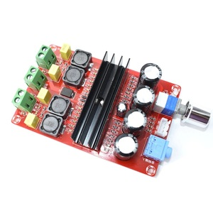 Image 2 - 100W *2 TPA3116D2 Digital Audio Power Amp Amplifiers 2.0 Channels tpa3116 Class D HiFi Stereo Amplifier board DC12 24V