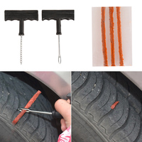 NEW GALAXY Repair kit for tubeless tires No. 1: glue, 5 bundles, I tool tire repair car free shipping 777 003