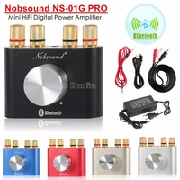 2015 New Nobsound Mini Bluetooth Headphone Amplifier Hifi Stereo Power AMP 30W 30W FREE SHIPPING