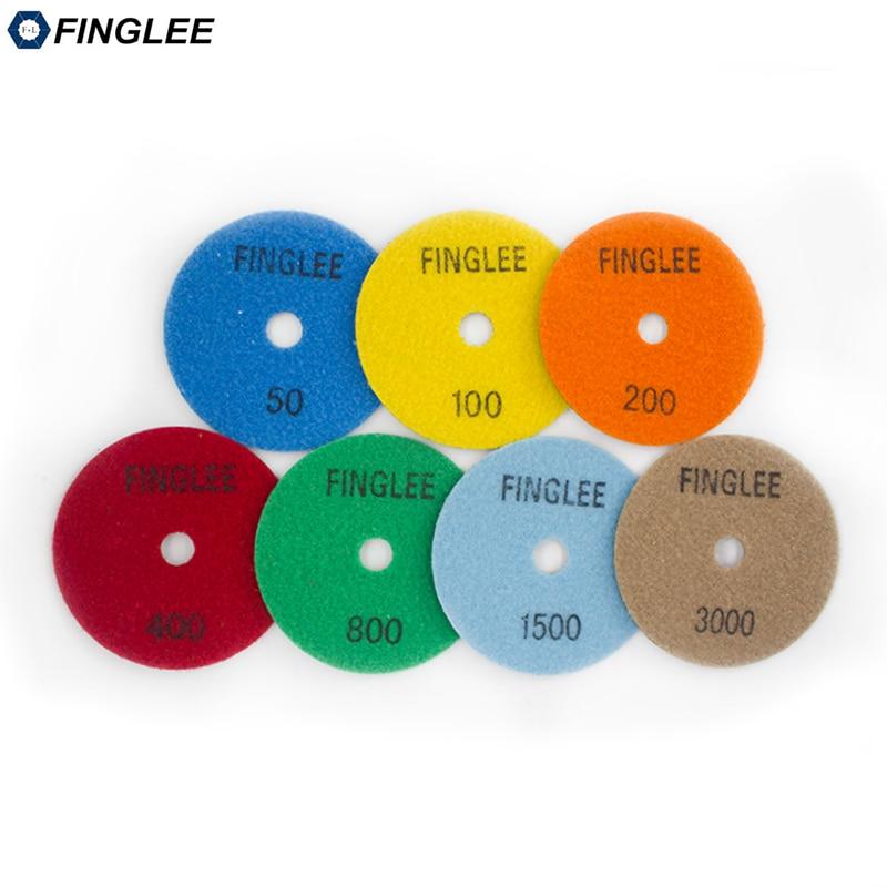 FINGLEE 7ks 4 palce / 100 mm úhlové brusky Diamond flexibilní - Elektrické nářadí - Fotografie 3