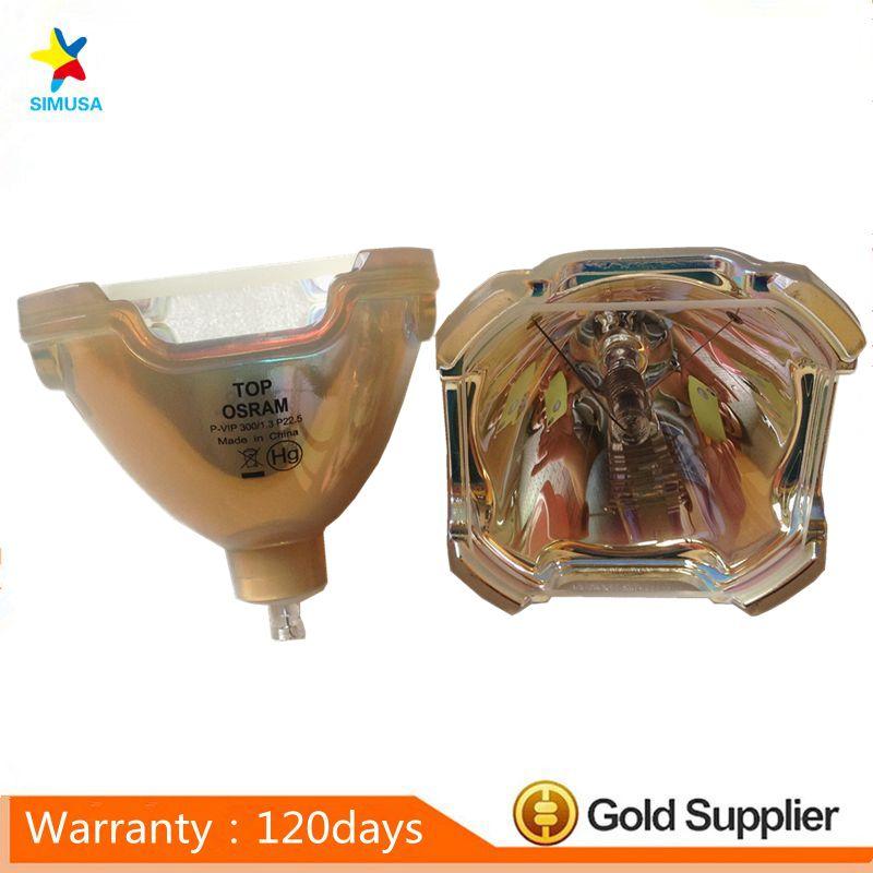 Original bare projector lamp bulb LV-LP28 for CANON LV-7575 100% new original bare projector lamp lv lp02 for canon lv 5500 lv 7500 lv 7510