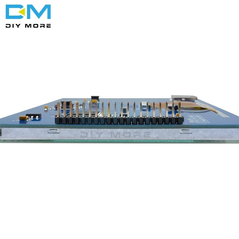 Optoelektronische Displays Neue 7 zoll Tft Lcd Modul 800x480 Ssd1963 Touch Pwm Für Arduino Avr Stm32 Arm 800*480 800 480 Digital Control Board Lcd Module
