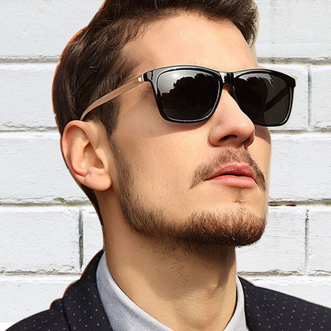 YOJBO Unisex Retro Sunglasses Men Polarized 2019 Fashion Women Vintage Brand Designer Square Sun Glasses Gafas De Sol Hombre Lahore