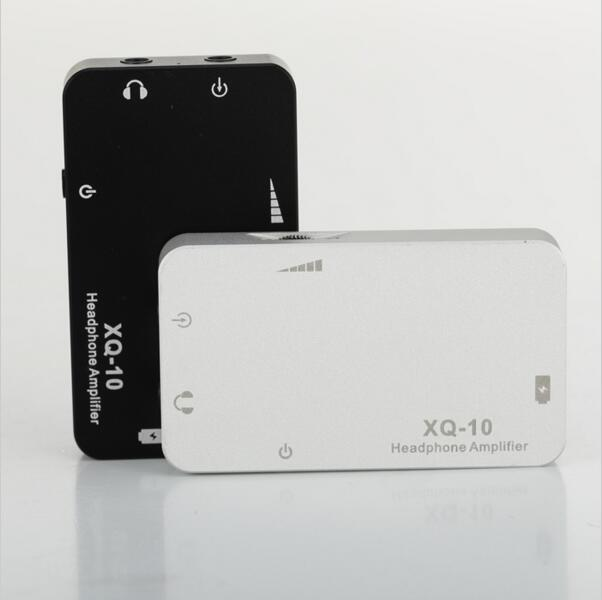 Original New XDUOO XQ-10 Mini Portable Headphone Amplifier Metal Case & Big Power & High Quality Sound
