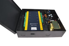 wiegand brand 32-bit TCP/IP four Door Control & power case,support software/ web / smart phone /tablet
