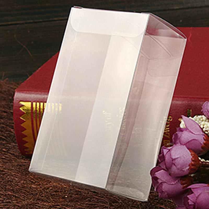 200 pcs 5x7x12 caixa de presente da jóia claro caixas de plástico caixa de armazenamento de Exibição caixa de embalagem de pvc transparente pvc boxen para qua/natal