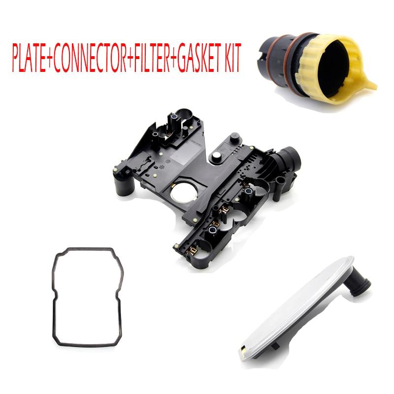 New 1402701161 Transmission Conductor Plate+Connector+Filter+Gasket KIT for DODGE CHRYSLER MERCEDES JEEP SPRINTER 2035400253 1280004960 1280007810 53005984 new starter for dodge