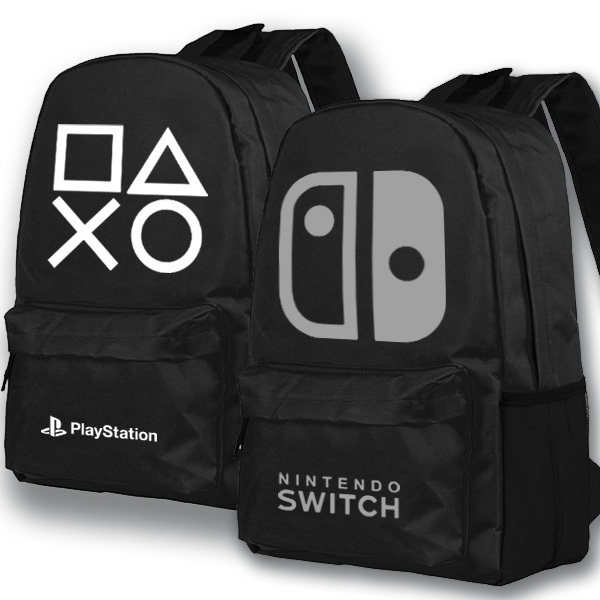 Anime Game Backpack playstation School Bags Student Bookbag Unisex Shoulder Travel Bag Gift roblox game casual backpack for teenagers kids boys children student school bags travel shoulder bag unisex laptop bags