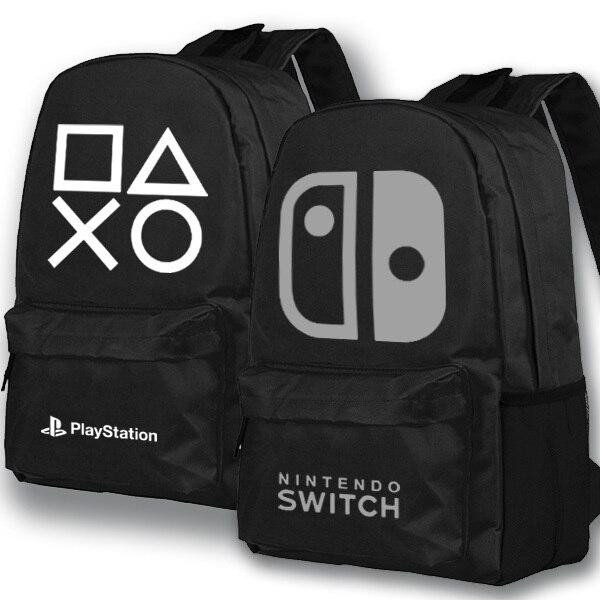 fd5ed72554af Anime Game Backpack playstation School Bags Student Bookbag Unisex Shoulder  Travel Bag Gift-in Backpacks from Luggage   Bags on Aliexpress.com