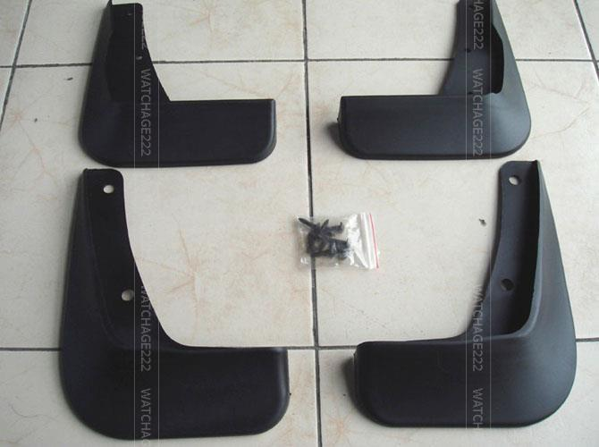 Accessories 4pcs Set Fit For 2008 2009 2010 2011 2012 Mitsubishi Lancer Gts Se Evo Mud Flap