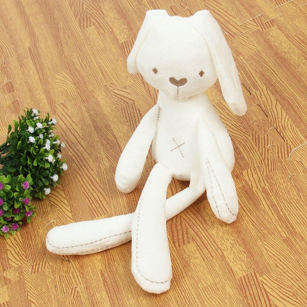 Cute plush rabbit doll baby soft plush toy rabbit baby sleep companion plush animal baby toys baby birthday gift