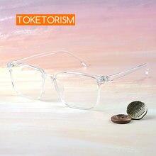 Toketorism прозрачные очки Женские оправы для очков по рецепту