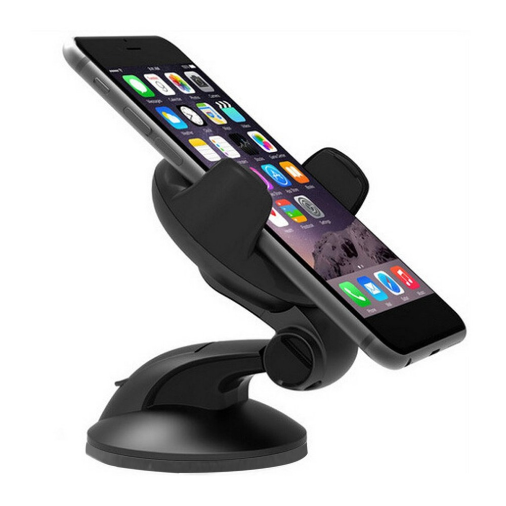 360 Degree Rotatable Car Windshield Dashboard Phone Holder Suction Cup GPS Stand for iPhone X 5 6 7 Xiaomi Huawei HTC Bracket