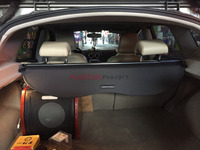 Aluminium alloy + Fabric Rear Trunk Security Shield Cargo Cover For Nissan Qashqai 2008 2009 2010 2011 2012 2013