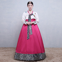45a30f38c6 Korean Traditional Royal Women Clothing Hanbok Dress National Dance  Performance Costume Female Ball Gowm Cosplay Clothes