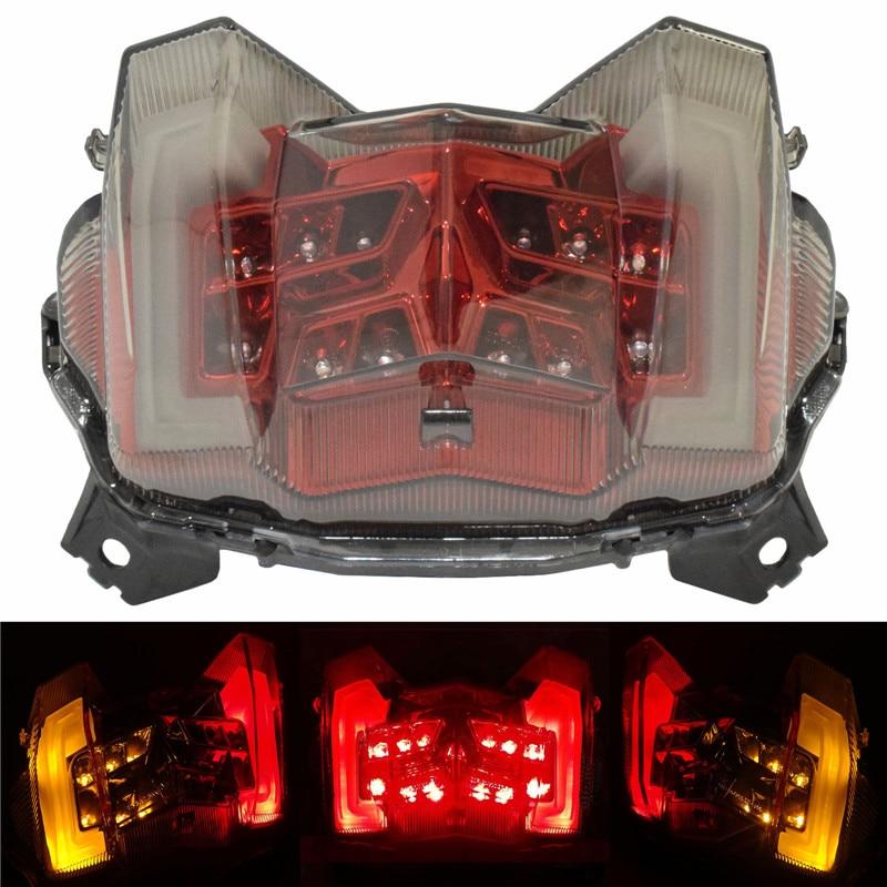 waase Motorcycle E Mark Rear Tail Light Brake Turn Signals Integrated LED Light For Yamaha MT 09 FZ 09 FZ09 MT09 2017 2018 2019