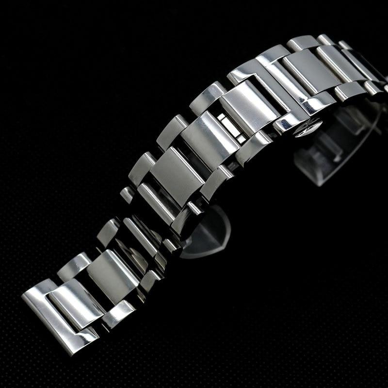 Watch Strap 18mm Silver Stainless Steel Bracelet for for Man Watch GD014518 г п шалаева большой современный англо русский словарь с транскрипцией