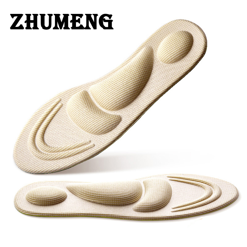 ZHUMENG 2 Pairs 2017 Memory Foam Insole Custom Foot Shocker Insoles Plantar Fasciitis Heel Pain Memory Foam Insole for Women 10 pairs once time free shipping 2015 newest memory foam insole custom foot massage insoles women and men shoes insole