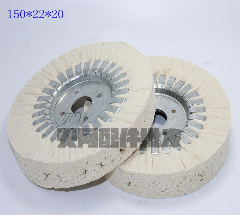 Woodworking Machinery Fittings Automatic Edge Banding Machine Buffing Wheel Mechanical Polishing Wheel 150*22*20 Core