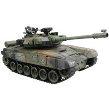 RC Tank Main Battle Tank Russian T-90 15 Channel 1/20 Model With Sound and Shoot Bullet Recoil Effect Tank Model Electronic Toys(China)