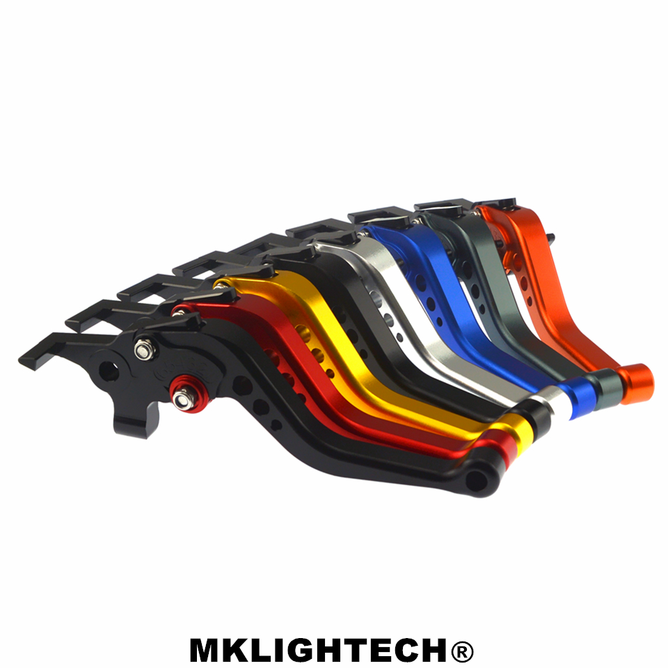 MKLIGHTECH FOR DUCATI 796 MONSTER 11 14 696 MONSTER 09 14 400 MONSTER 04 07 Motorcycle Accessories CNC Short Brake Clutch Levers
