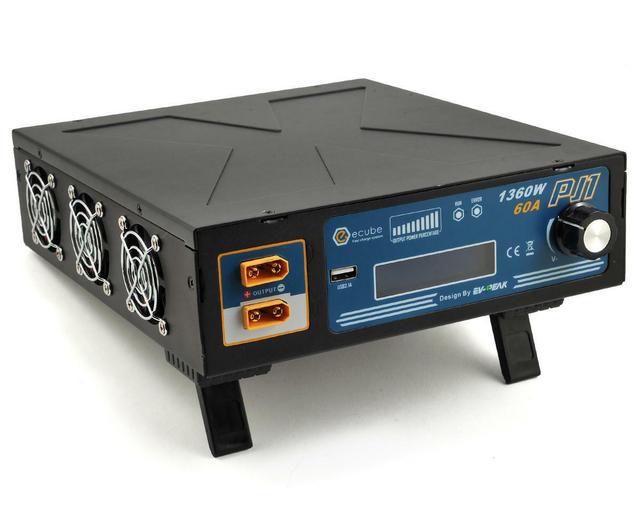 Aerops Details about ProTek RC EV Peak PJ1 eCube 1360W Power Supply w/USB Port (12 24V/60A/1360W)
