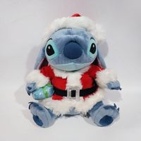 1pieces/lot 25cm plush Christmas lilo stitch doll toy Children's toys Decoration of household car decoration Christmas gift
