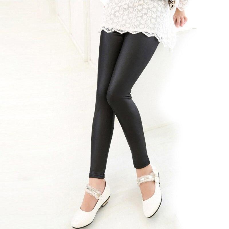 Leggings extensibles pour bébés filles | À la mode, pantalon en cuir PU, Lolita, Cool, pour petites filles, offre spéciale, nouveau,