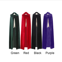 1pc Halloween Cosplay Witch Cloak Costume For DIY Party Cloth Elf Kids Performance Props Wizard Cloak
