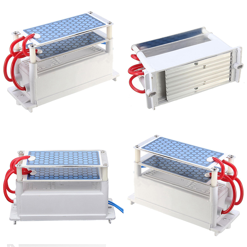 DWZ AC 110V 10g Ozone Generator with Blue Plates Treatment Air Purifier Tool Kit NEW фильтр mybottle purifier blue splash 1018642