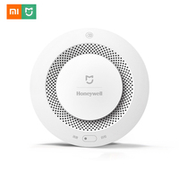 Xiaomi Mijia Smoke Detector Fire Alarm Audible Remote Control Smart Gas Detector Audible And Visual Alarm Work With Gateway