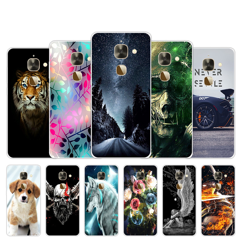 Soft TPU Case For Letv Le 2 2 Pro X527 X620 Silicone Cover 5.5 inch For LeEco Le Eco S3 Back Phone Cases Lovely Design Shells