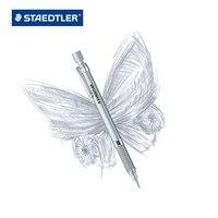 1 Pc ניסוח גרפיט Staedtler עיפרון מכאני אוטומטי סדרת כסף 0.3 או 0.5 או 0.9 או 2.0 מ
