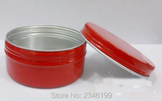 150G 150 ML Zalfpotje, aluminium Blikjes Met Rode Kleur, grote Volume - Huidverzorgingstools - Foto 2
