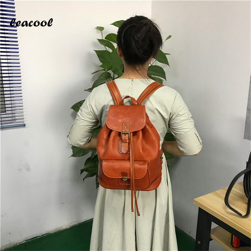 Fashion Tassel Women's Leather Backpacks Casual Lady Backpack Travel Bag Campus Women Bag School Shoulder Bags Mochilas Feminina new gravity falls backpack casual backpacks teenagers school bag men women s student school bags travel shoulder bag laptop bags