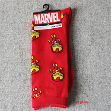 3D Print Fashion Heroes Series Character Pattern Unisex Cotton In Tube Socks For Womens Cute Soft Warm Socks Winter Funny Socks