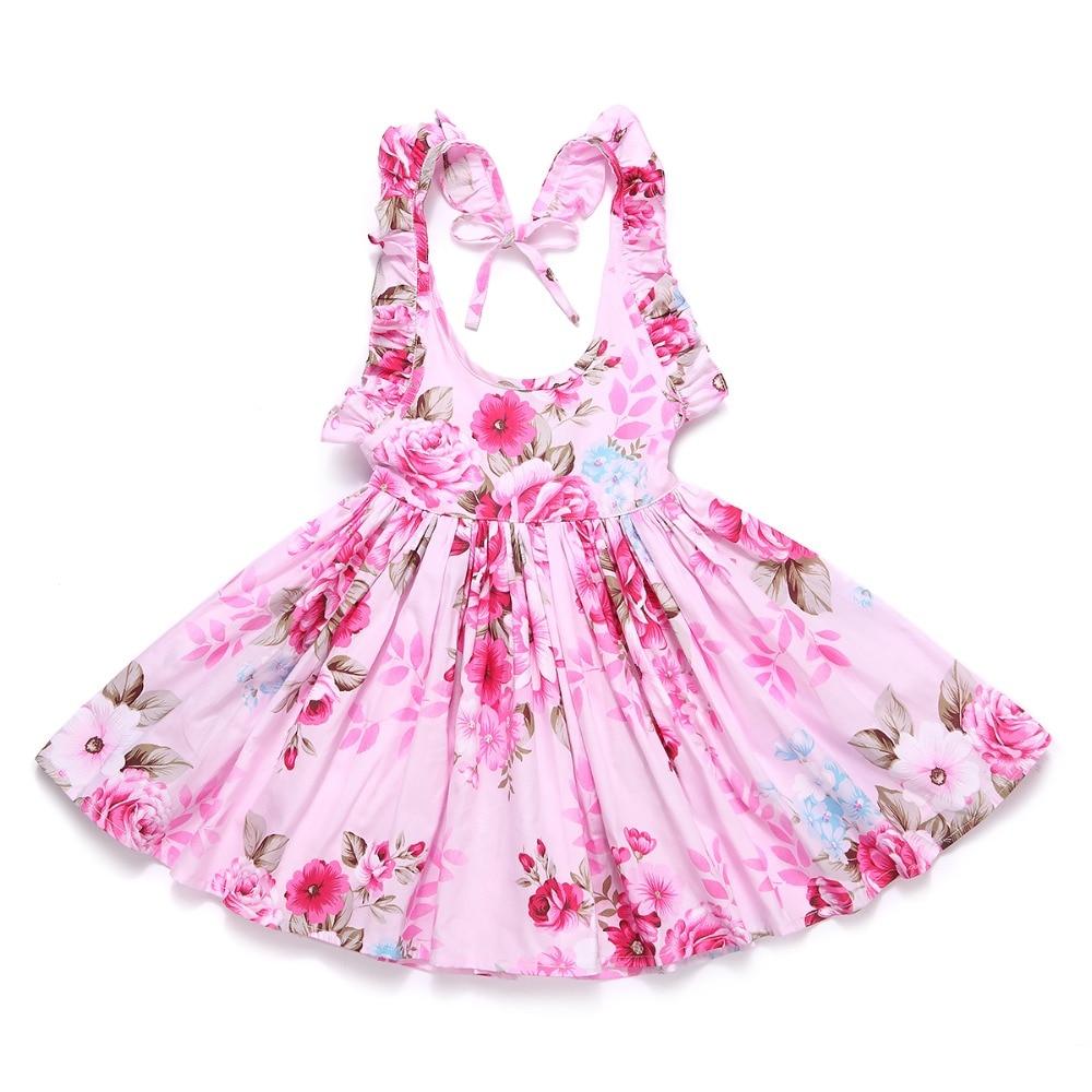 FLOFALLZIQUE Laste kleit, 16 värvivalikut 3