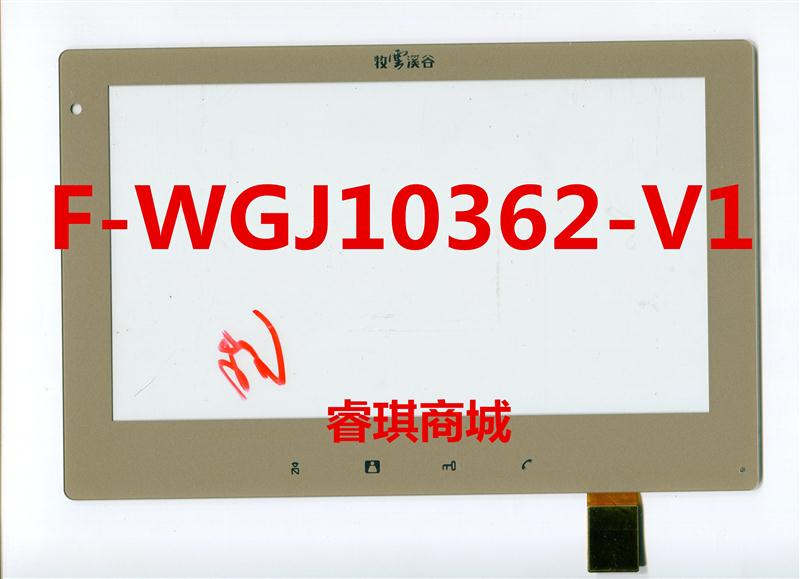10.1 inch black in stock F-WGJ10362-V1 tablet pc touch screen panel Digitizer Glass sensor replacement F-WGJ10362 WGJ10362
