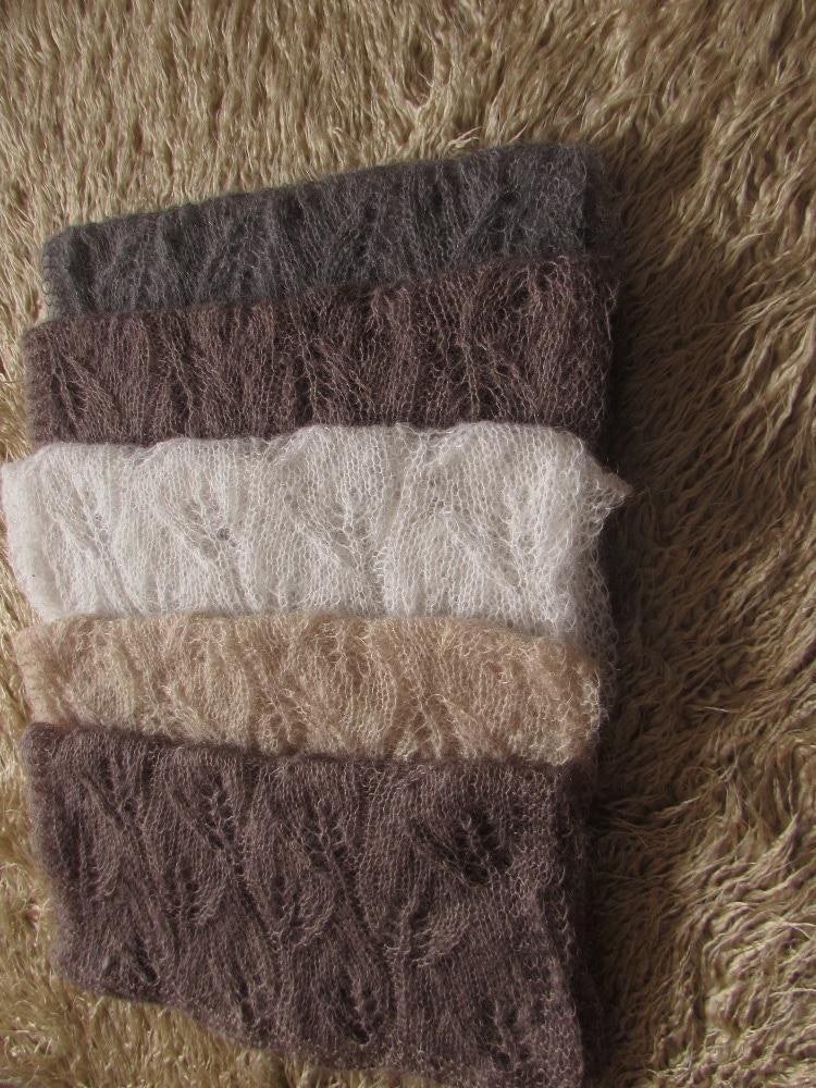 Вязаное крючком одеяло из мохера для маленьких девочек и мальчиков, трикотажное детское Пеленальное Одеяло, реквизит для фотосессии новоро