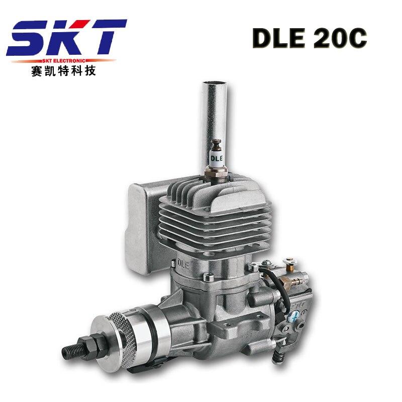DLE 20 20CC moteur à essence d'origine 20CC moteur pour RC avion modèle vente chaude, DLE20CC, DLE20