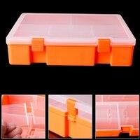 Caixa de Armazenamento De Exibição De jóias Brincos Camada Dupla caixa de Ferramentas Recipiente Organizador Caixa de Coleta Da Moeda Caso Do Cartão de Armazenamento Em Casa