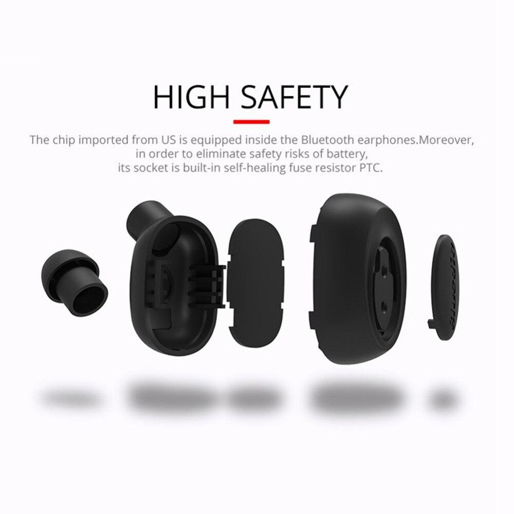 8331ce02f Auricular Bluetooth con cancelación de ruido auricular inalámbrico para  coche con micrófono de entrenamiento de negocios