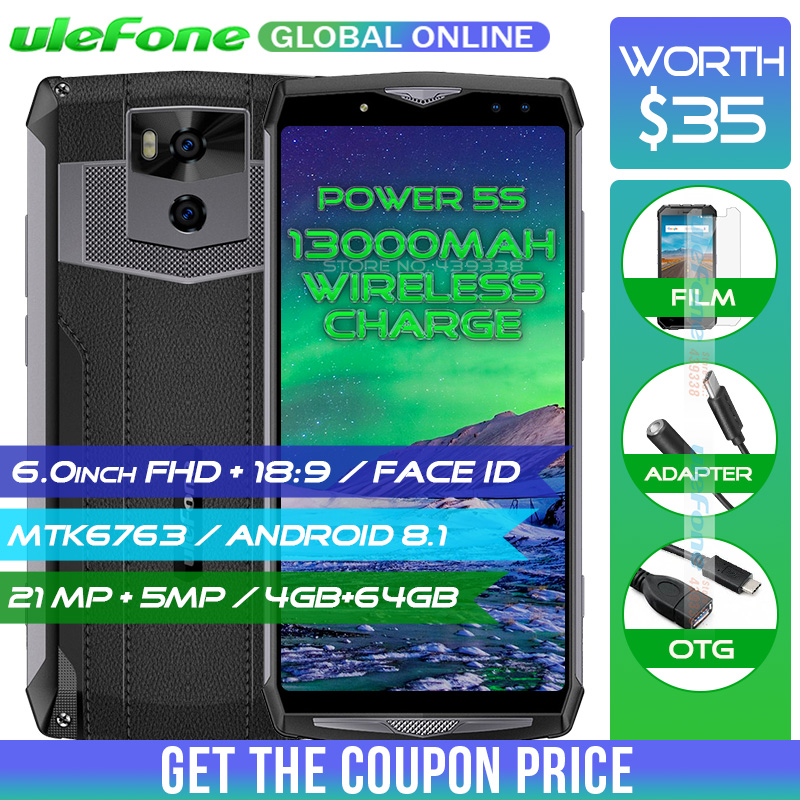 Atras Ulefone Power 5S 13000 mAh 4G Smartphone 6,0