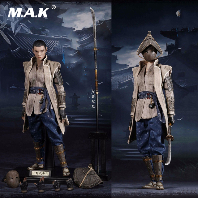 1/6 Scale Warrior Women Series W001 Female Ronin Nobushi Action Figure for Fans Holiday Collection Gift