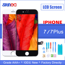 лучшая цена 100% AAAA 3D Touch Original LCD Screen For iPhone 7 Plus LCD Display Digitizer Touch Module Apple i Phone 7g 7p Replacement Gift