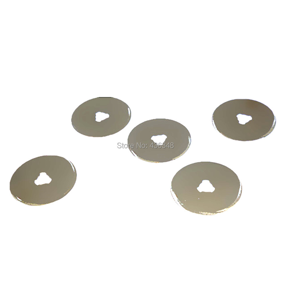 1/5/10pcs 28mm Rotary Cutter Spare Blades Patchwork Fabric Cutting Rotary Cutter Blade Craft Paper Fabric Cut Spare Refill Blade