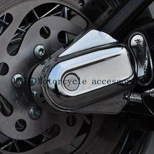 Защитный чехол для задней крышки осей мотоцикла для Harley Softail FLSTC FLSTN FXSTB 2008