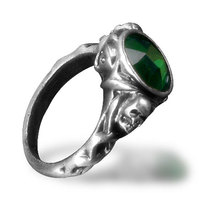 Bahamut Personalized Ring Male Goths Accessories Skull Finger Ring