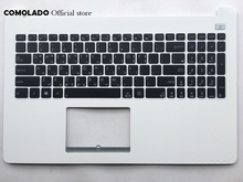 KR Korean keyboard for ASUS X502 X502C X502A X502U X502EI X502X X502CA  Palmrest Cover White C Shell Layout
